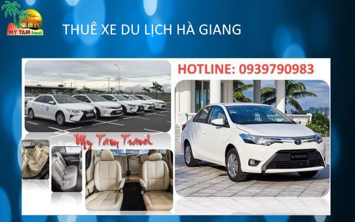 Thuê xe tại TP Hà Giang