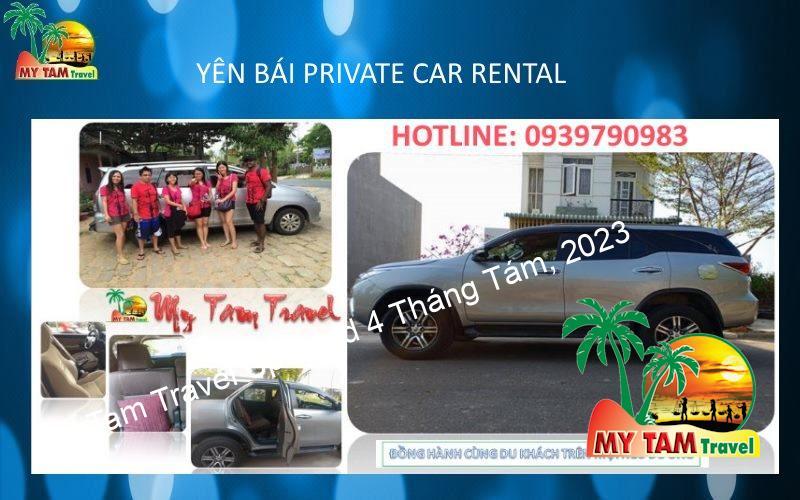 Car Rental in Yen Binh district