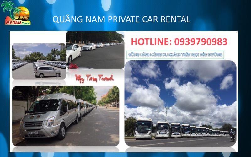 Car rental in Quang Nam