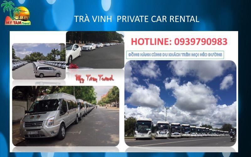 Car rental in Tra Vinh