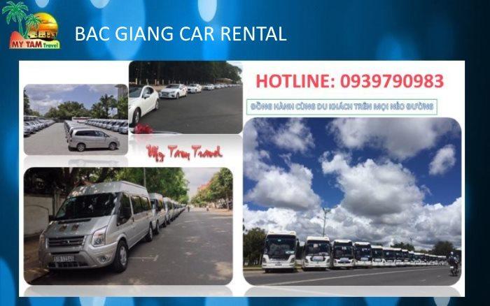 Car transfer in Bac Giang