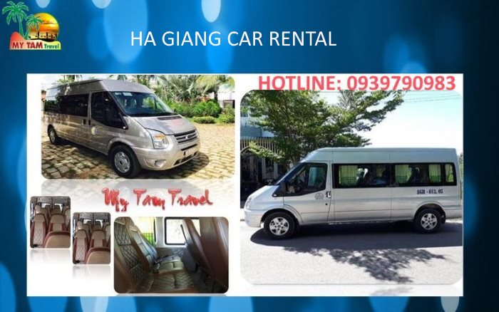 Car transfer in Ha Giang city