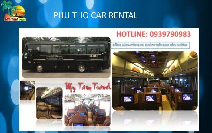 Car Rental In Viet Tri City, Viet Tri Car rental, Car Transfer Viet Tri, Car from Viet Tri, Phu Tho province. 19 seat limousine Car Rental in Viet Tri City