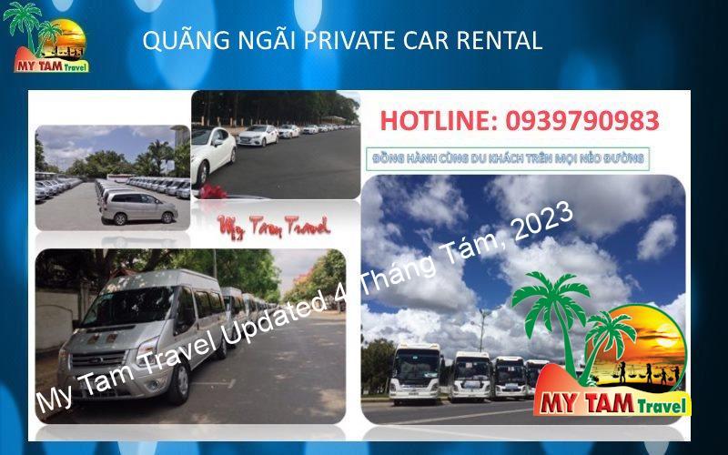 Car rental in Quang Ngai