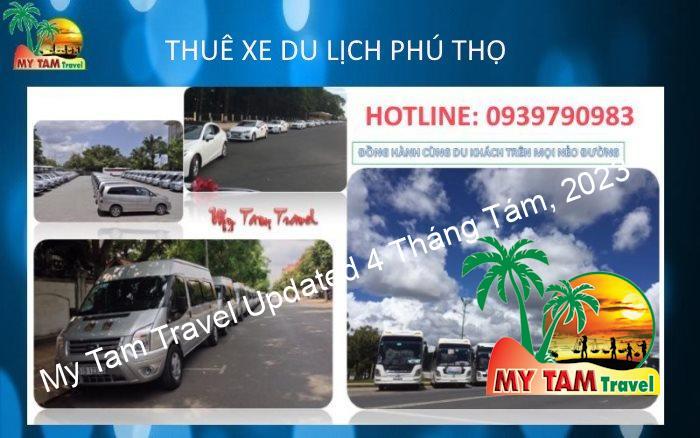 Thuê xe tại Thành phố Việt Trì