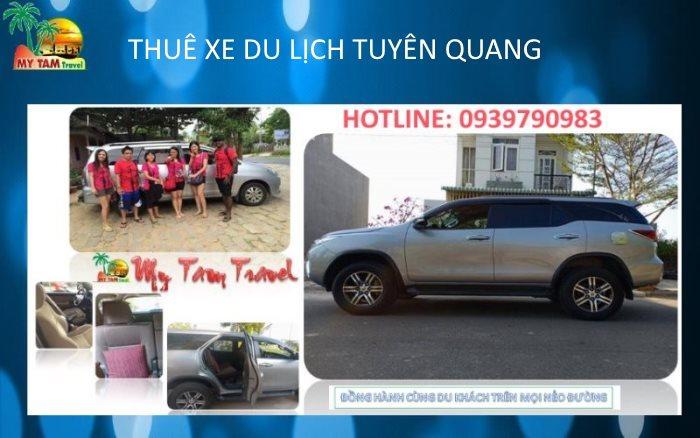 Thuê xe tại Thành phố Tuyên Quang