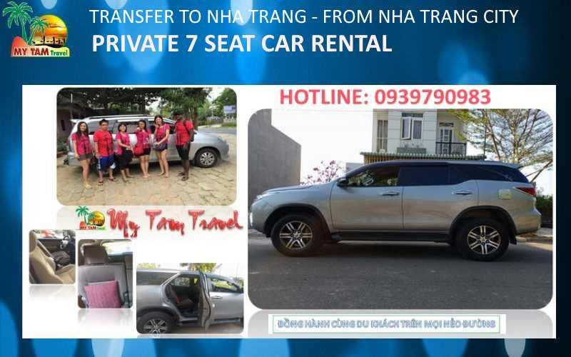 Car Rental in Nha Trang City