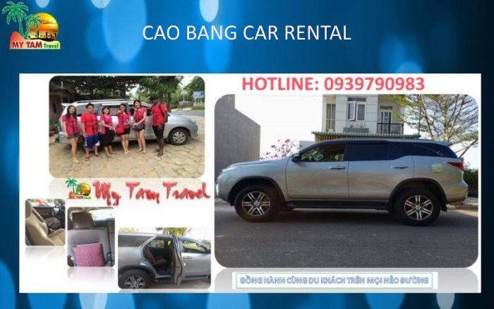 Car rental from Cao Bang city