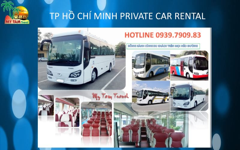 Car Rental in Ho Chi Minh City 29 seat bus