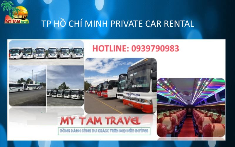 Car Rental in Ho Chi Minh City 45 seat bus