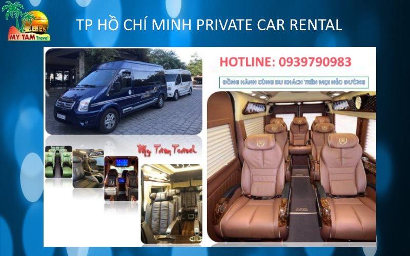 Car Rental in Ho Chi Minh City 9 seat limousine van