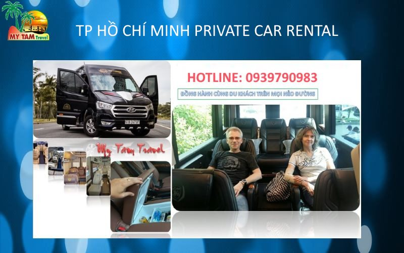 Car Rental in Ho Chi Minh City 10-11-12 seat limousine vip