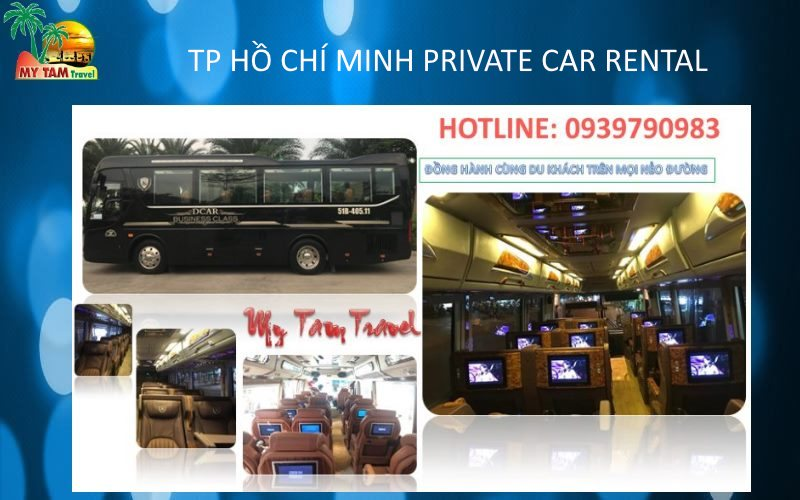 Car Rental in Ho Chi Minh City 18 -19 seat bus VIP