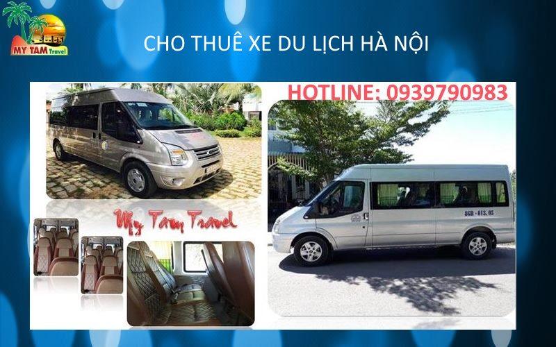 Thuê xe tại thành phố Hà Nội